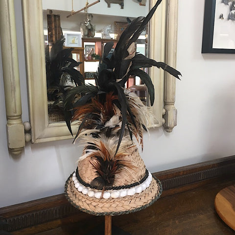 DECORATIVE HEADRESS ON  STAND