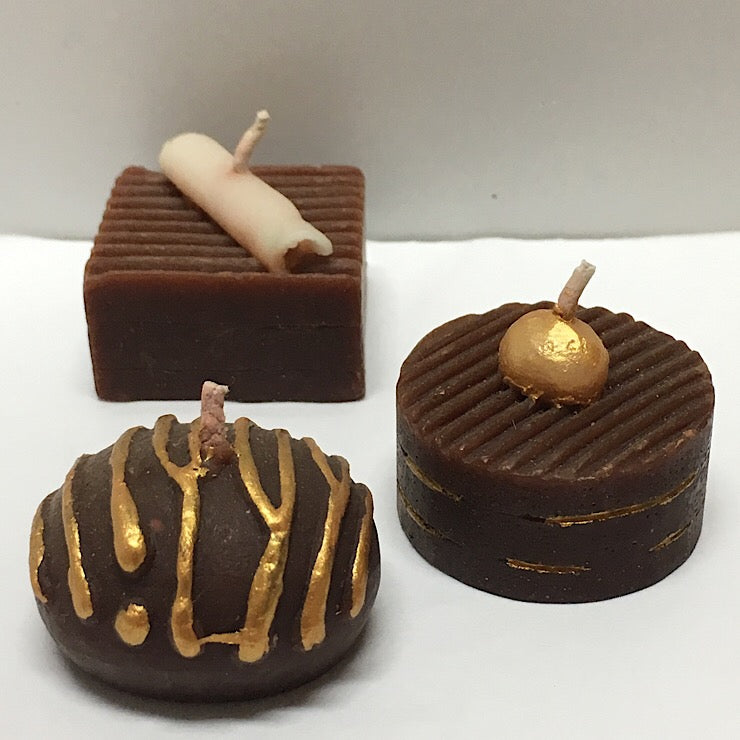 CHOCOLATE CANDLES - BOX