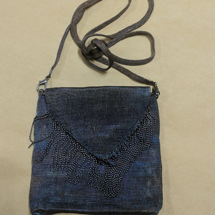 KNITTED METAL BAG