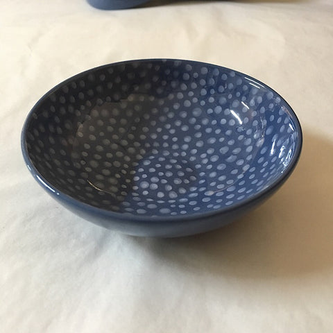 BLUE DOTS BOWL MINI