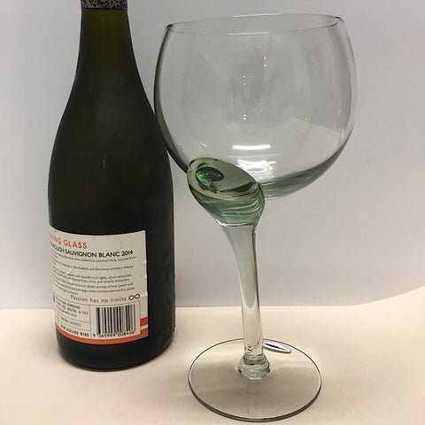 CROOKED GIANT WINE GLASS