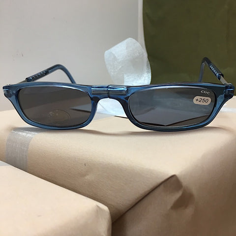 CLIC READER SUNGLASSES DENIM 2.5