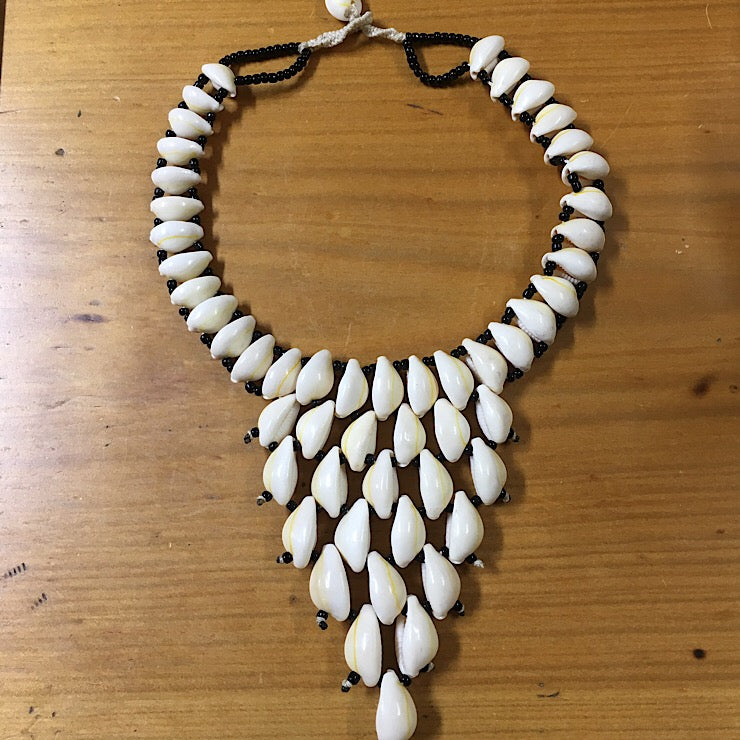 AFRICAN SHELL NECKLACE