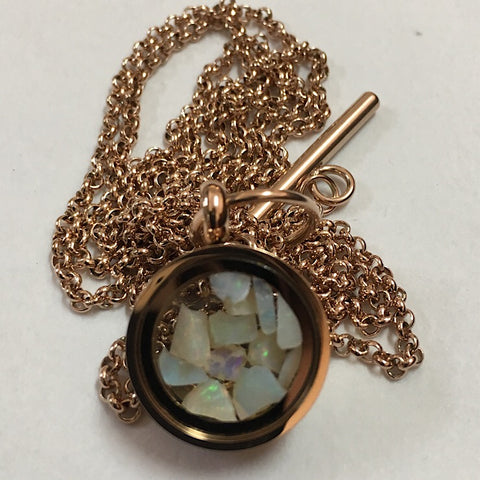 OPAL CAPTURE NECKLACE SMALL