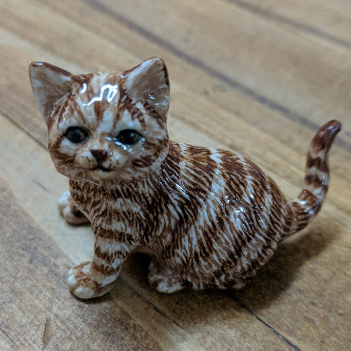 CERAMIC TABBY CAT