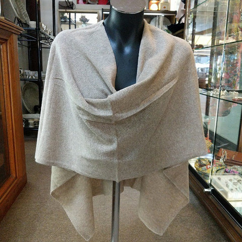 CASHMERE TOPPER NATURAL