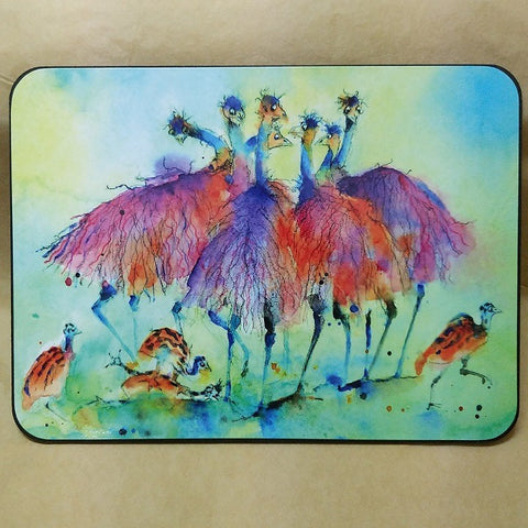 SHONAS WATERCOLOURS RECTANGULAR PLACEMATS