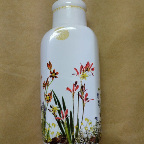 CERAMIC VASE SUNNY SPRING PRINT BY ANGUS AND CELESTE