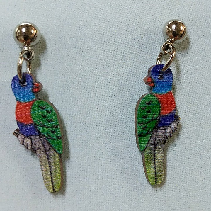 WOODEN AUSTRALIAN MADE EARRINGS