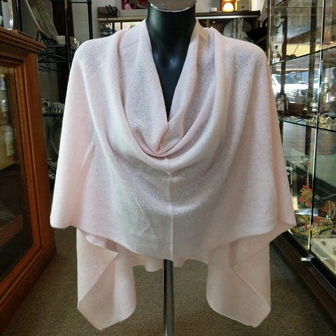 CASHMERE TOPPER DAWN PINK