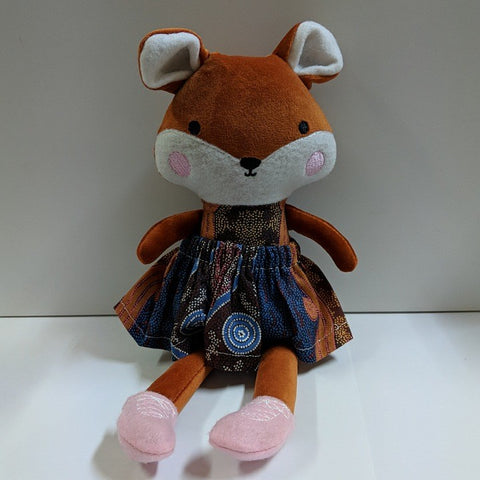 AUSTRALIAN HANDMADE SOFT TOY FOX