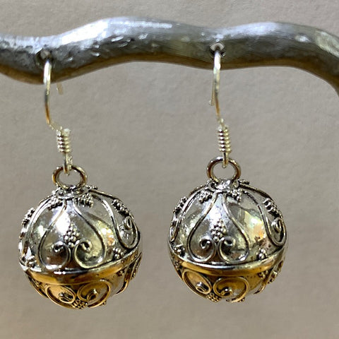 HAPPINESS HARMONY BALL EARRINGS