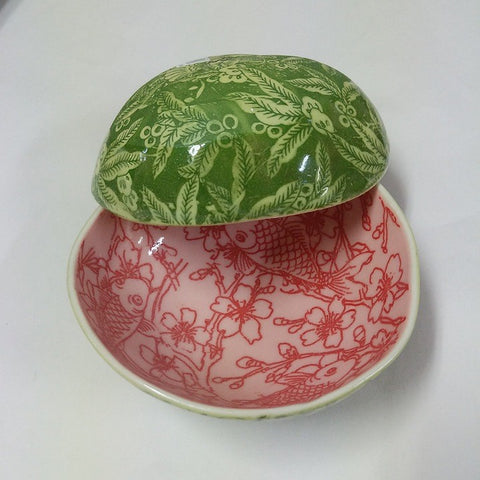 SAMANTHA ROBINSON WATERMELON BOWL SMALL