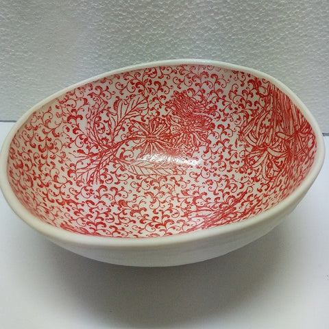 CERAMIC ROCKMELON BOWL SAMANTHA ROBINSON