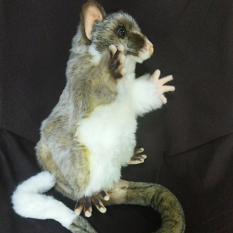 BRUSH TAIL POSSUM PUPPET 45 CM