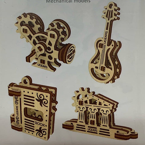 FOUR WOODEN MODELS MUSIC