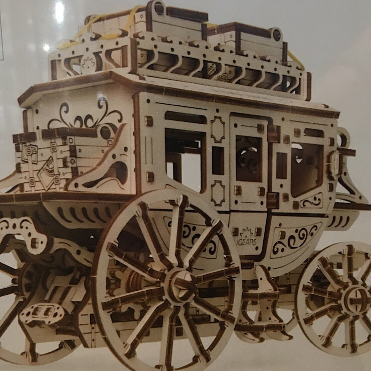 UGEARS MECHANICAL STAGECOACH MODEL