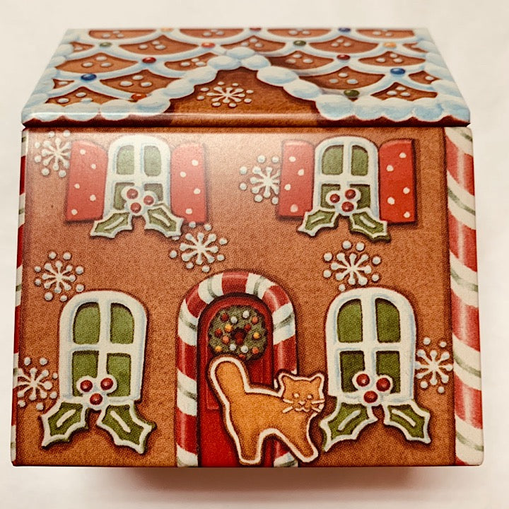 GINGERBREAD HOUSE TIN