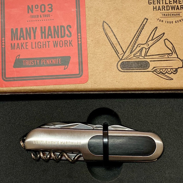 MANY HANDS MAKE LIGHT WORK MULTI-TOOL