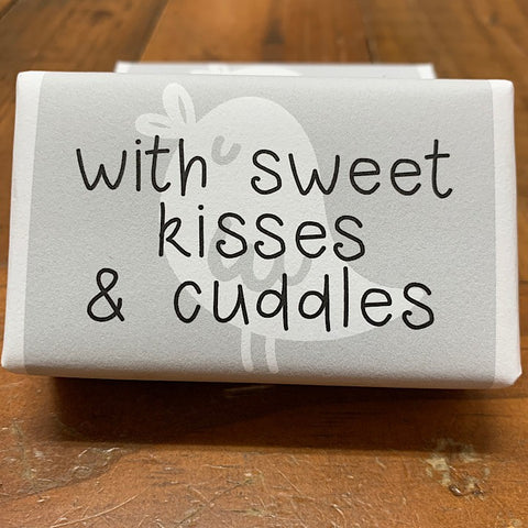 SOAP FOR BABY WITH SWEET KISSES AND CUDDLES