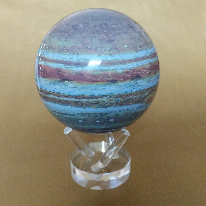 JUPITER MAGNETICALY SPINNING GLOBE ON STAND