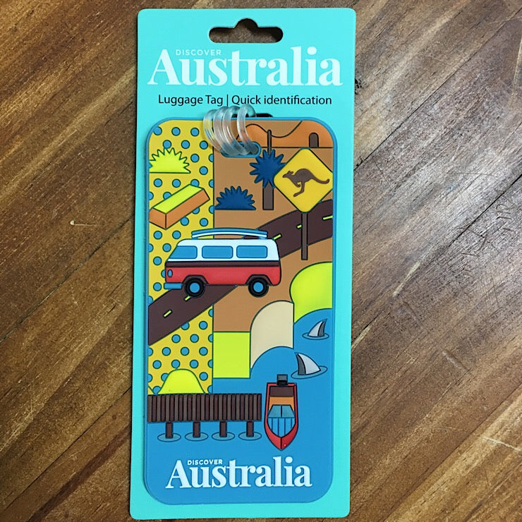 LUGGAGE TAG SOUTH AUSTRALIA