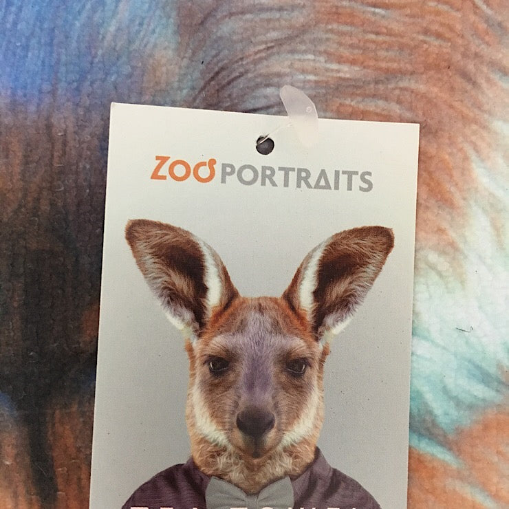ZOO TEA TOWEL KANGAROO