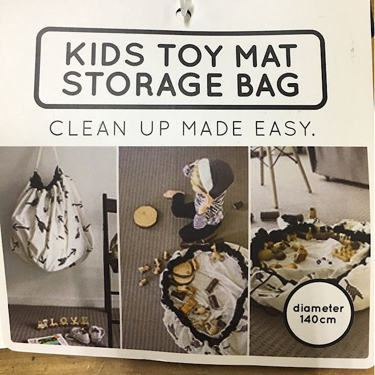 KIDS TOY MAT STORAGE BAG