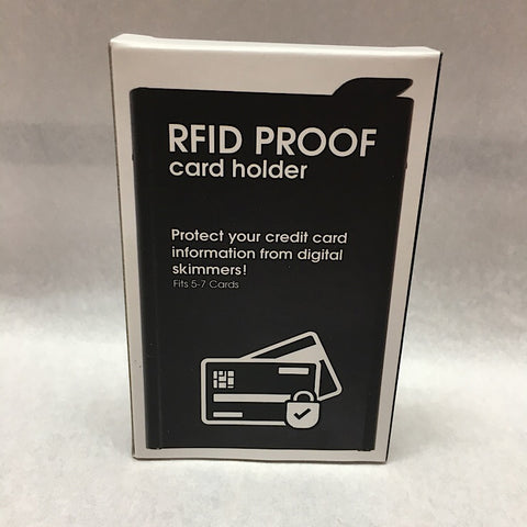 RFID PROOF CARD HOLDER