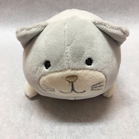 SOFTEES MINI RATTLE- CAT
