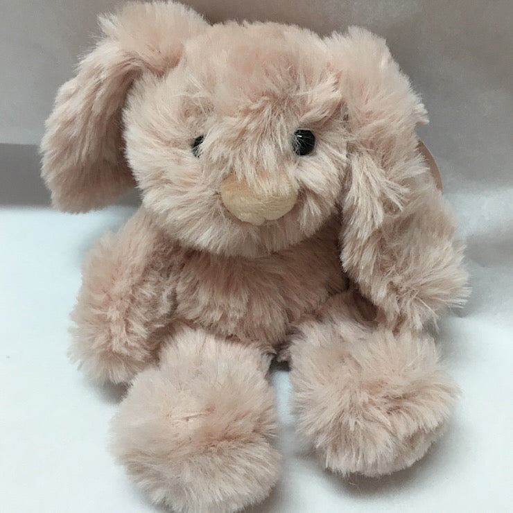 PINK BABY BUNNY PLUSH TOY