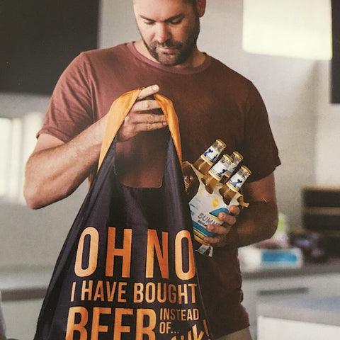 SHOPPING BAG - BEER