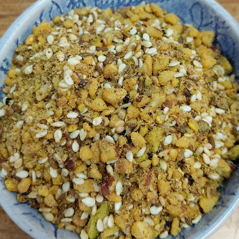 HAZELNUT AND PISTACHIO DUKKAH