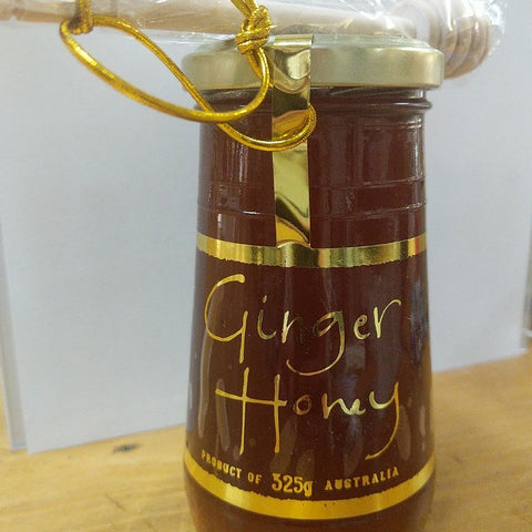 GINGER HONEY WITH DIPPER