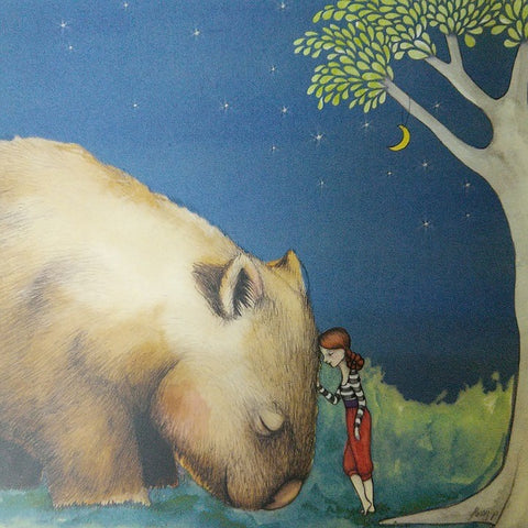 GIANT WOMBAT GREETING CARD