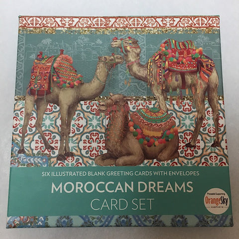 MOROCCAN DREAMS CARD SET