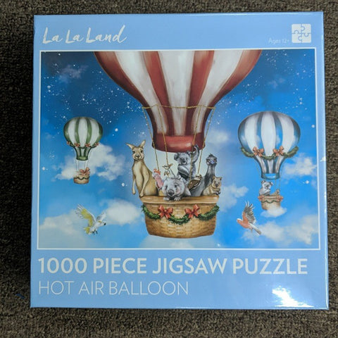 HOT AIR BALLOON 1000 PIECE JIGSAW PUZZLE