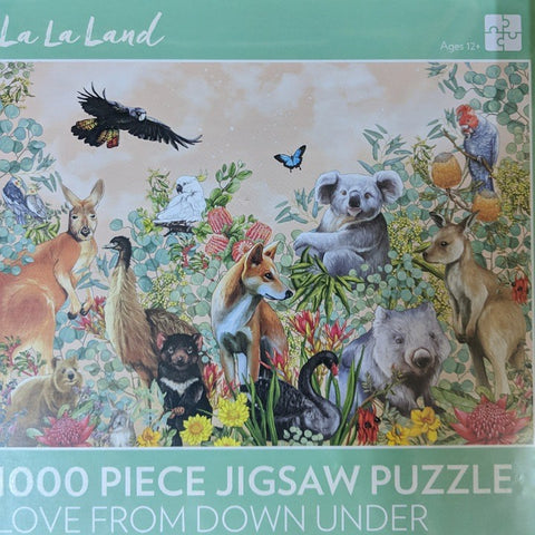 JIGSAW PUZZLE LOVE FROM DOWN UNDER