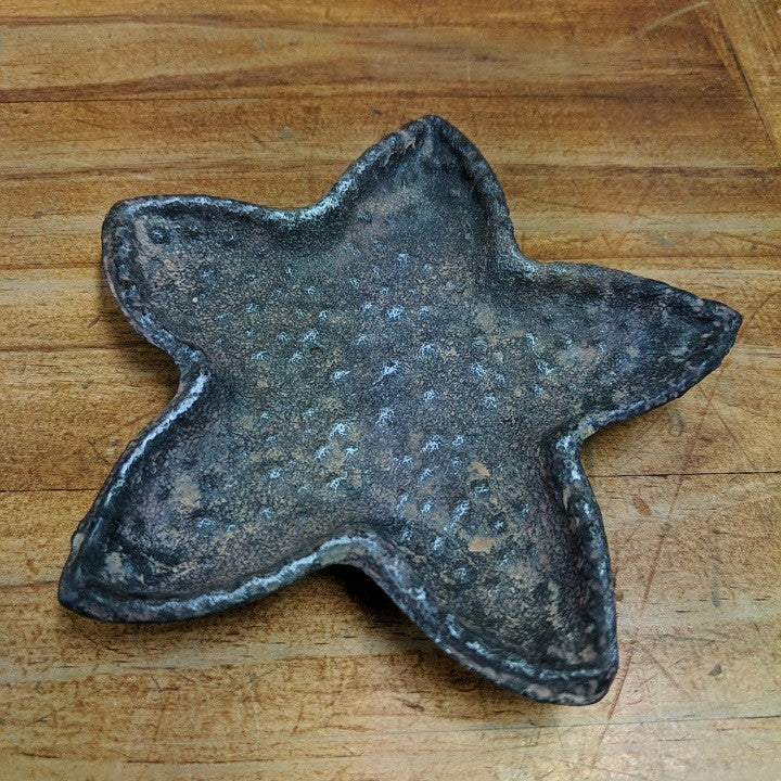 CAST IRON STARFISH TRINKET DISH