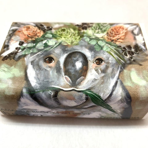 AMANDA BROOKS SHEEP ON LEMONGRASS SOAP