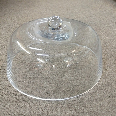 FLAT TOPPED CLEAR FOOD COVER