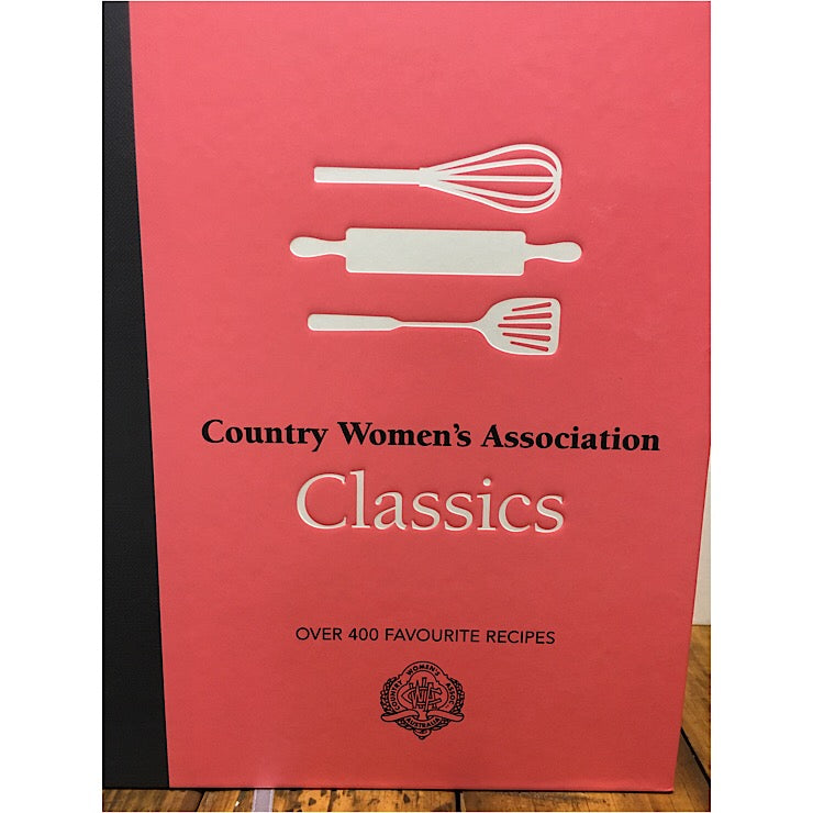 CWA CLASSICS COOKBOOK RECIPES