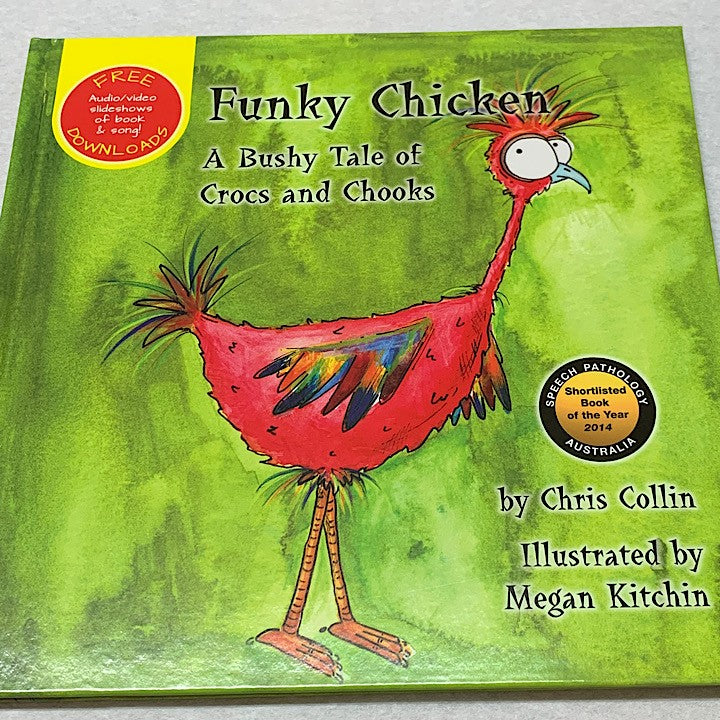 FUNKY CHICKEN BOOK AND CD