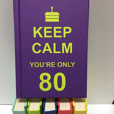 KEEP CALM YOU'RE ONLY 80