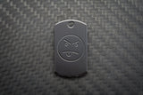Zirconium Mini Tags - Blackened