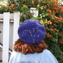 Constellation Beret - Dark Blue