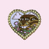 Cat Bus Heart Pin