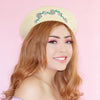 Fresh Daisies Beret - Yellow
