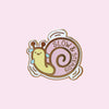 Slow Steady Snail Pin