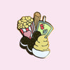 Snack Club Pin
